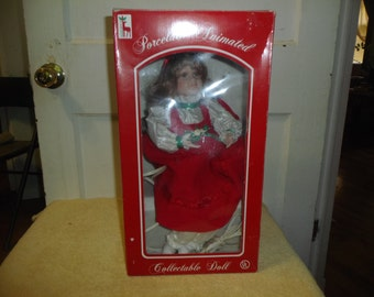 Santa's Best Animated Porcelain Doll