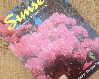 Sunset Magazine May 1967 Issue
