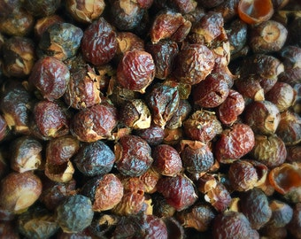 Ovella Wool Soap Nuts Berries Natural Laundry Detergent Sample Size 4-5 loads