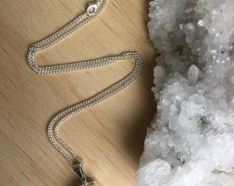 February Birthstone - Amethyst Point Gem Medicine Necklace