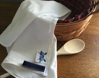 Lake Girl Flour Sack Tea Towel