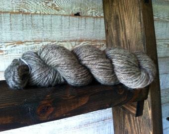 Romney/Coopworth Navajo Ply Yarn - Gray