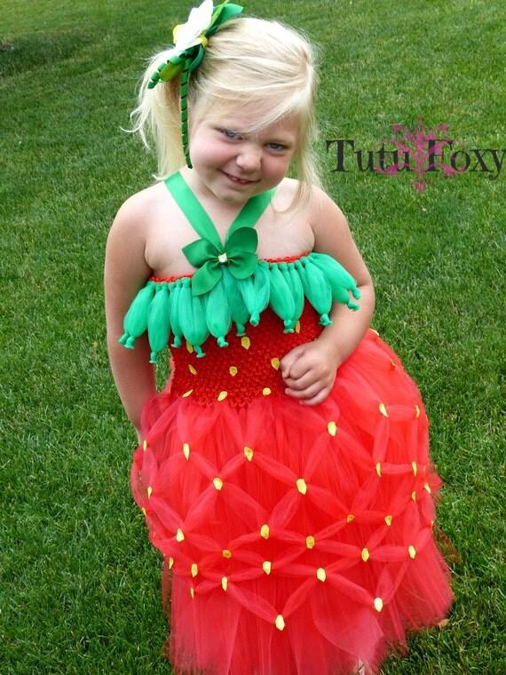 strawberry tutu dress strawberry tutu strawberry costume strawberry birthday strawberry outfit halloween costume food costume - Strawberry Halloween Costume Baby