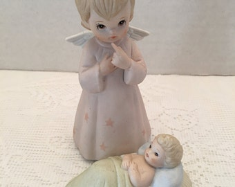 The Christopher Collection ~ Lefton China ~ Baby Jesus Lord of All ~ Hand painted ~ # 03825 ~ Vintage