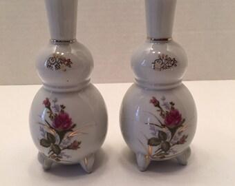 Vintage Japan Vases ~ Set of Two~ Bud Vases~ Floral Vases~ Virginia Vintage