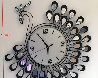mirror Modern Wall Clock