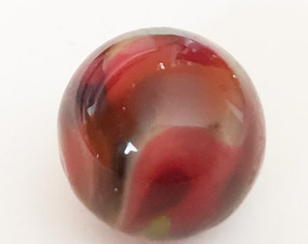 Lovely ball vintage glass button