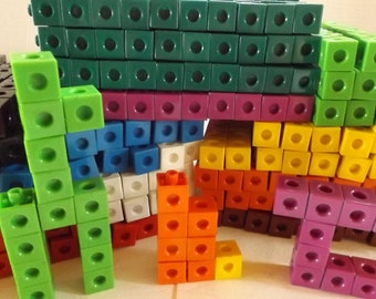 SNAP CUBES by Cuisenaire: 1,467 Cubes in Ten Different Colors