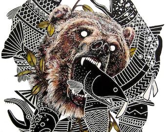 Bear (Print)