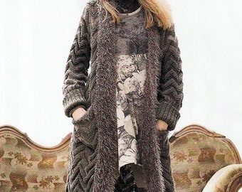 Mesdames long cardigan main / custom