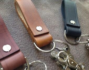 Belt loop biker style chain