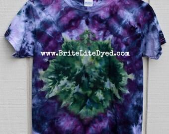 Tie Dye T Shirt YOUTH SMALL 6-6x-Junior-Teen's Clothing-Tie Dyed Clothing--Hippie-Hippy-Boho-Tye Dye-Tiedye-Skater-Surfer-Tiedyed-Tyedye