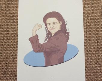 Elaine Benes Illustration