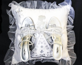Debutante Shoe Pillow