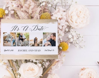 It's A Date Save The Date Card
