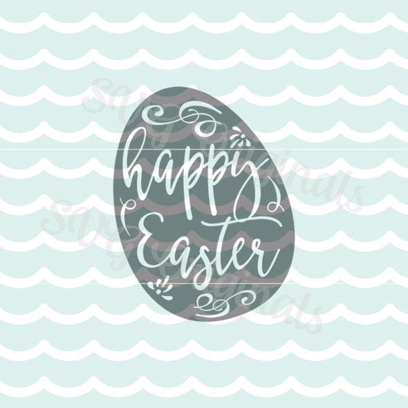 Download Easter Egg SVG Happy Easter SVG Vector File. So pretty for ...