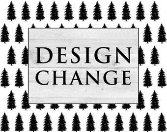 ADD ON: Design Change
