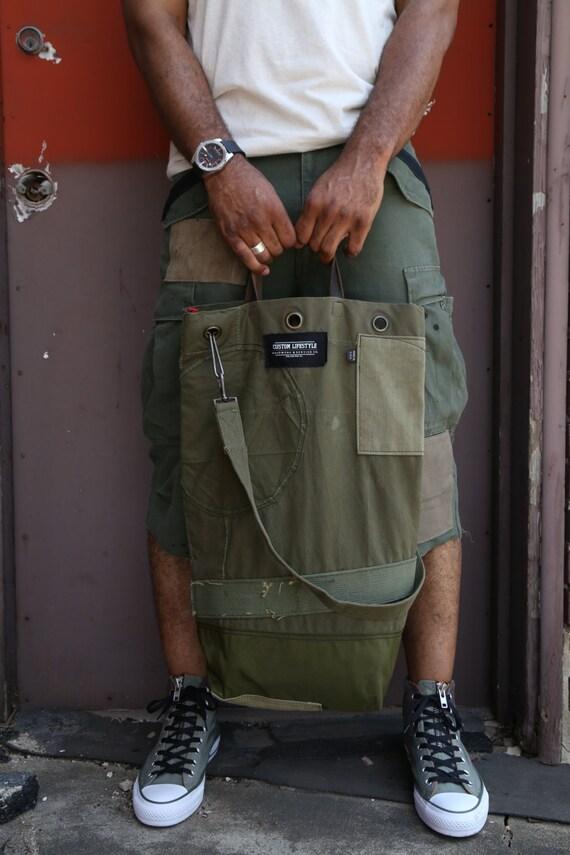 CL long tote messenger bag
