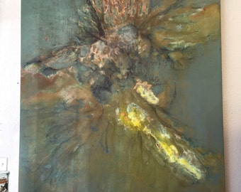Monumental Abstract Oil Painting