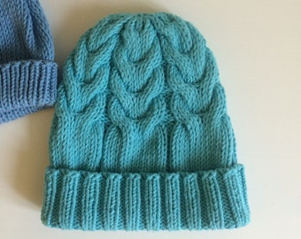 Knit newborn hat