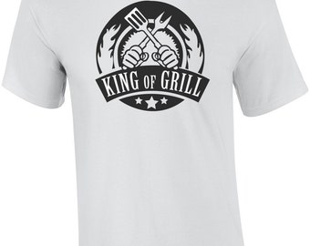 King of Grill - bbq t-shirt