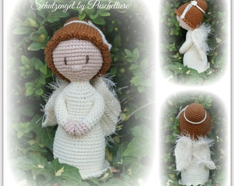 Crochet Angel of by wool animals