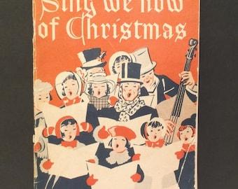 """Vintage Songbook.......""""Sing We Now Of Christmas"""" - The Willis Music Co., Cincinnati, Ohio"""