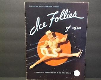 Ice Follies of 1942 Souvenir Publication and Program