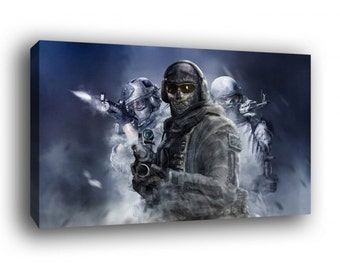 Call of Duty Modern Warfare Canvas Art Print A1 A2 A3 A4