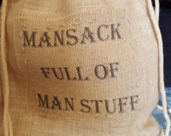 Mansack full of Man Stuff, includes postage & 10 % of sack profits go to Orchid Male Cancer Charity