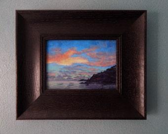 Island sky,sunset,ocean,tropical,Hawaii