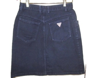 guess jeans -guess clothing - denim jeans - blue jeans - vintage jeans - 1980's jeans