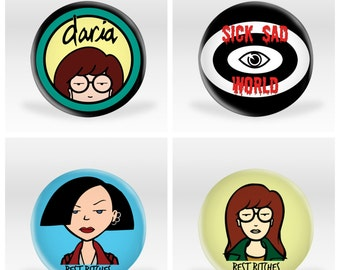 Daria Buttons