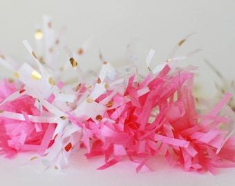 bubble gum  pink pompom stir sticks, drink stirrers, bridal shower, baby shower, birthday party decor, swizzle sticks,  wedding,  sweet 16