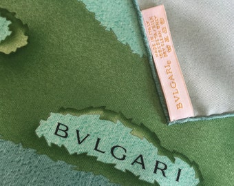 Vintage Bvlgari Scarf - never used in original box