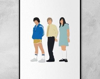Summer Heights High | Chris Lilley | Minimal Artwork Poster