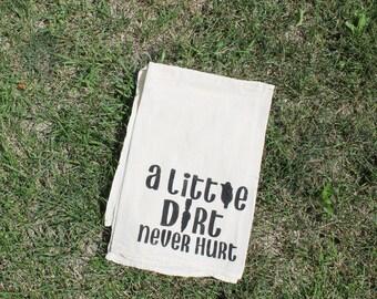 SALE // A Little Dirt Never Hurt // Farm // Dish Towel // Kitchen // Gardening