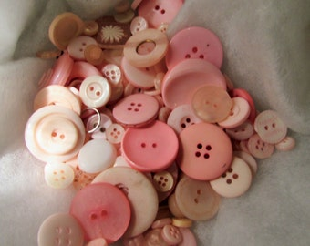 Pink Button Assortment