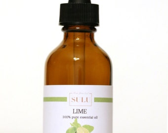 100% Pure and Natural Organic Lime Essential Oil