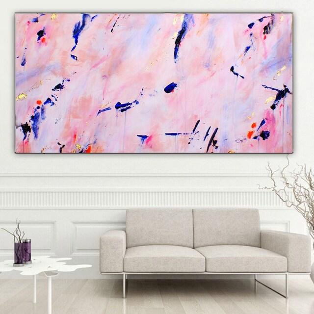 Abstract paintings canvas wall art modern decor von modernmuseart