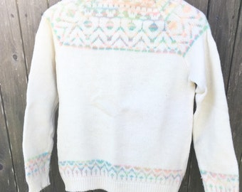 Vintage Wool Pandora Sweater