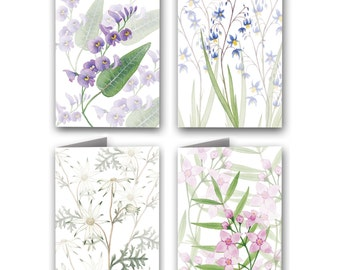 Wildflowers of Australia | 4 Pack Greeting Cards