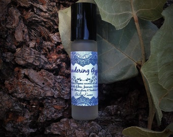 Wandering Gypsy - Essential Oil Perfume - Captivating and sensual blend of Jasmine, Rose, Ylang Ylang, Patchouli, Sandalwood, and Vanilla.