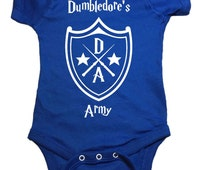 "Harry Potter Baby One Piece ""Dumbledore's Army"" Bodysuit"