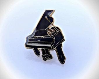 Grand Piano Pin Brooch