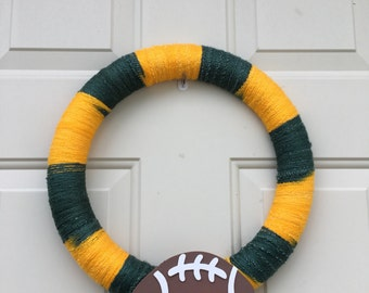 Green Bay Packer Wreath