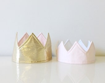 Mini Fabric Crown