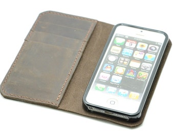 Leather iPhone 5SE Wallet Case   iPhone 5SE Case  iphone SE leather case  iPhone 5SE Case  leather case  iPhone 5SE  wallet leather case