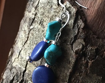 Blue/Turquoise Earring