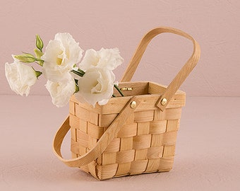 Medium Sized  Picnic Basket Favor Containers Country Wedding Decorations